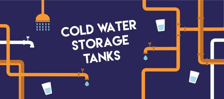 Cold water storage tanks