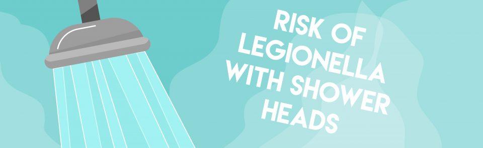 Risk of Legionella with Showerheads